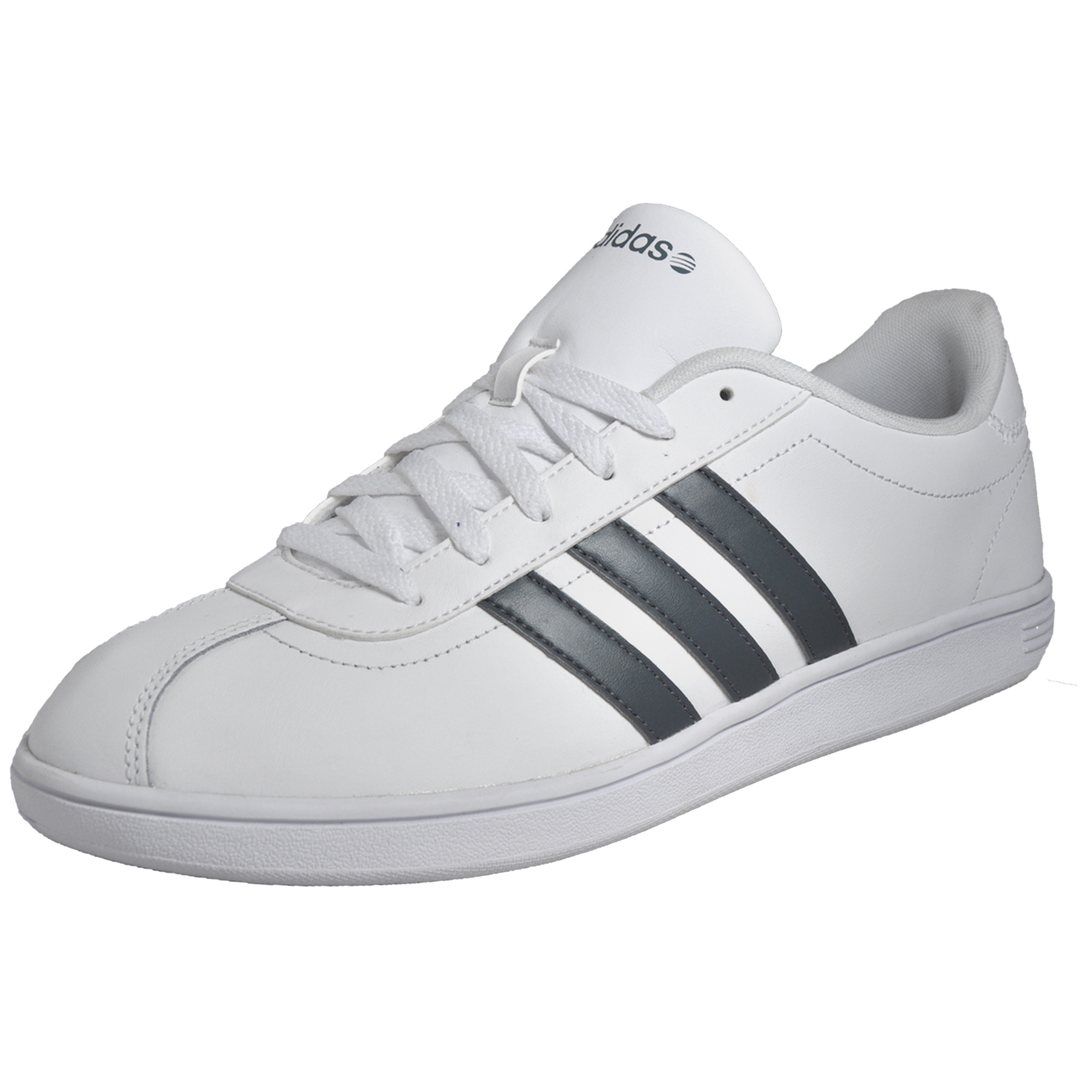 adidas vl neo court mens classic casual retro trainers white ebay. Black Bedroom Furniture Sets. Home Design Ideas