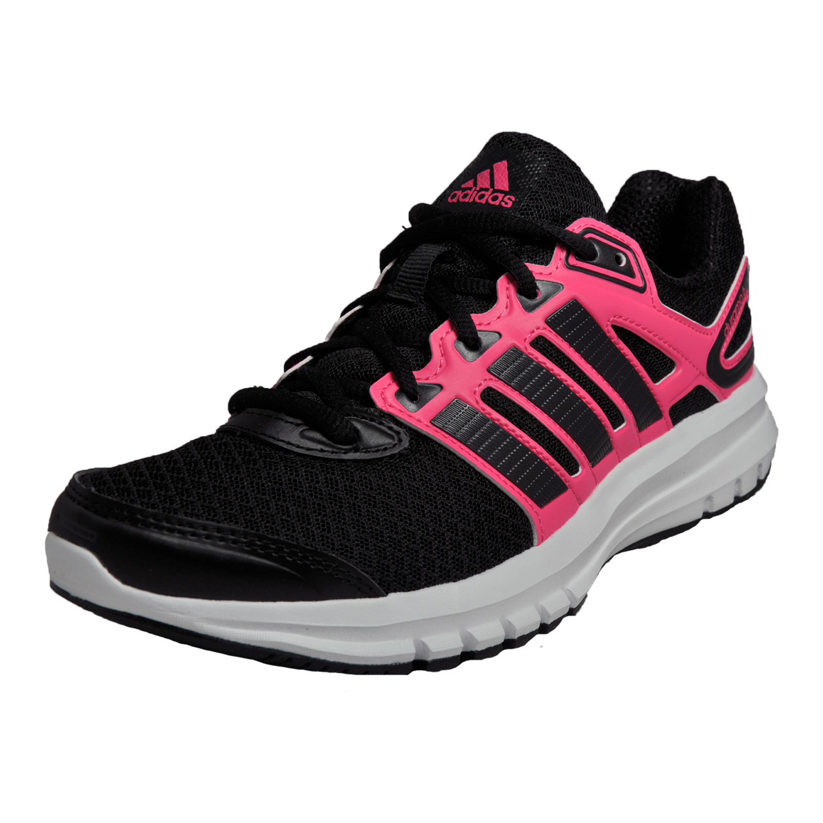 Adidas Duramo 6 Womens Running Shoes Fitness Gym Workout Trainers Black | EBay