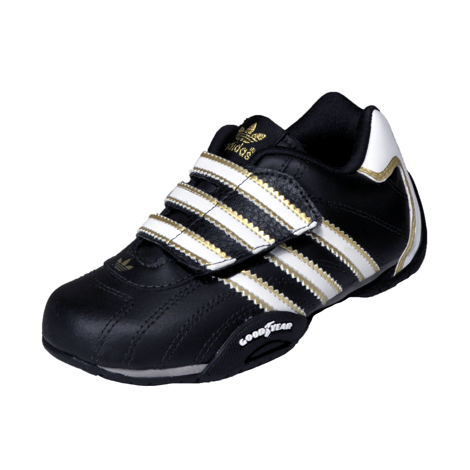 adidas originals infants goodyear racer lo leather. Black Bedroom Furniture Sets. Home Design Ideas