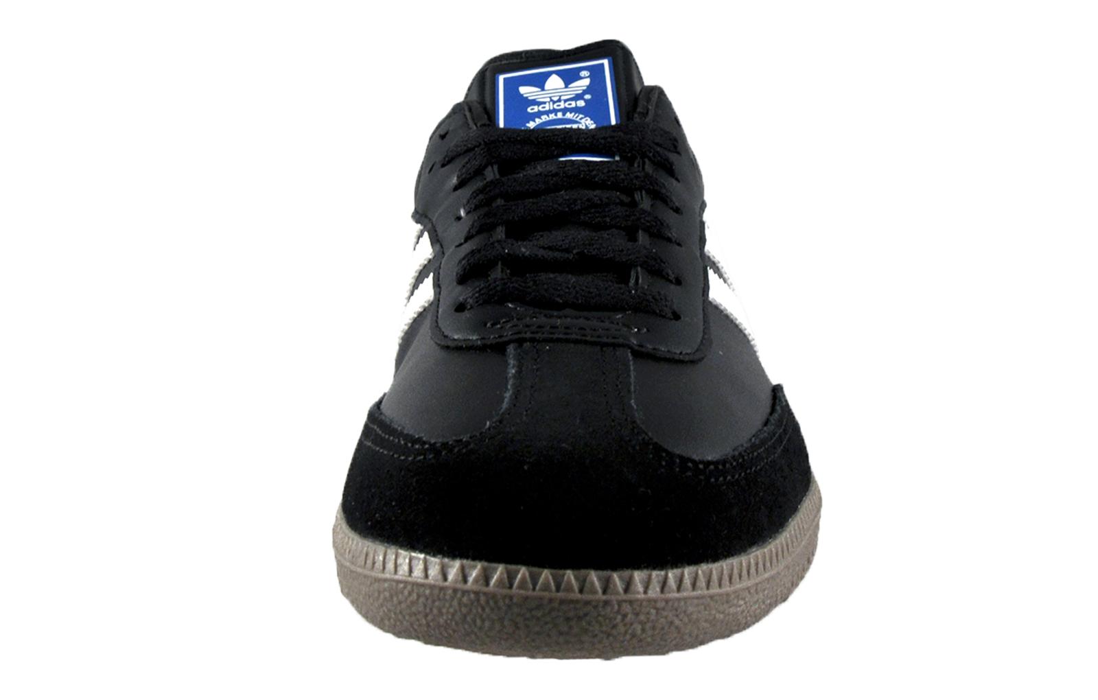 adidas originals mens samba classic leather retro trainers. Black Bedroom Furniture Sets. Home Design Ideas