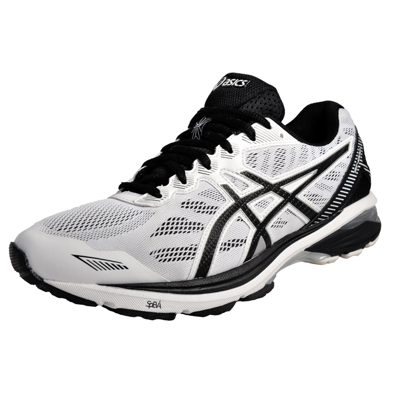 asics gt 1000 5 mens superior running shoes gym fitness trainers white ebay. Black Bedroom Furniture Sets. Home Design Ideas