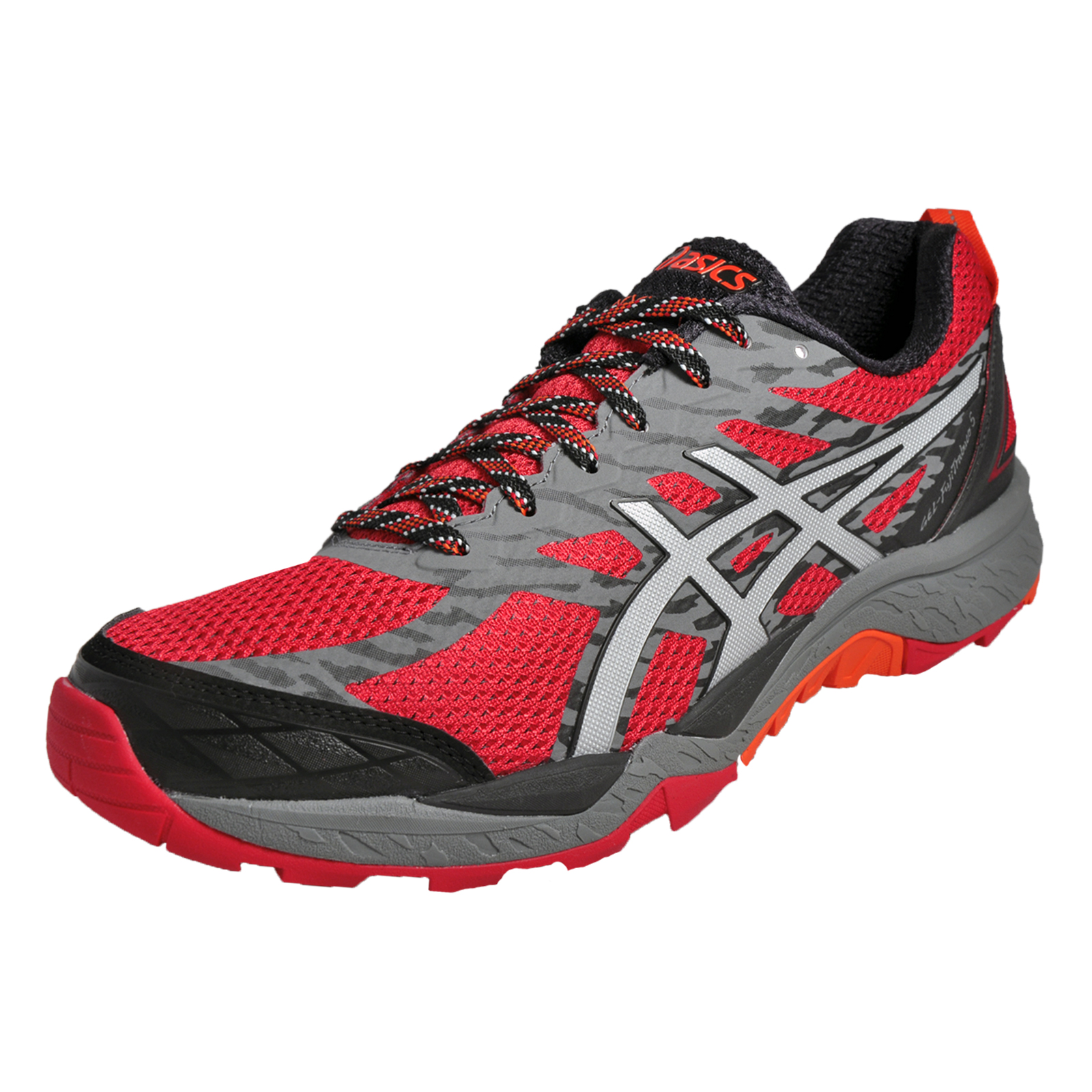 asics gel fuji trabuco 5 mens all terrain premium running shoes trail trainers t ebay. Black Bedroom Furniture Sets. Home Design Ideas