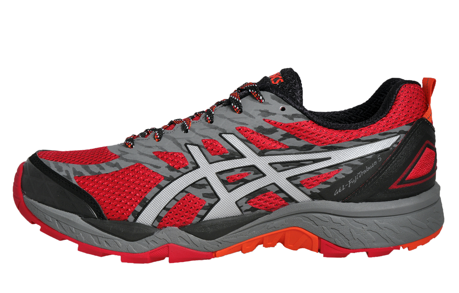 asics gel fuji trabuco 5 mens all terrain premium running shoes trail trainers t. Black Bedroom Furniture Sets. Home Design Ideas