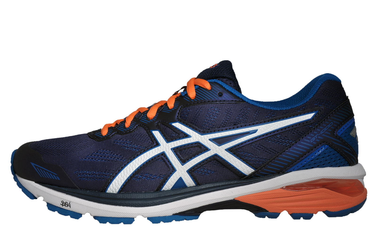 asics gt 1000 5 mens running shoes gym fitness trainers indigo blue new in 2017 ebay. Black Bedroom Furniture Sets. Home Design Ideas