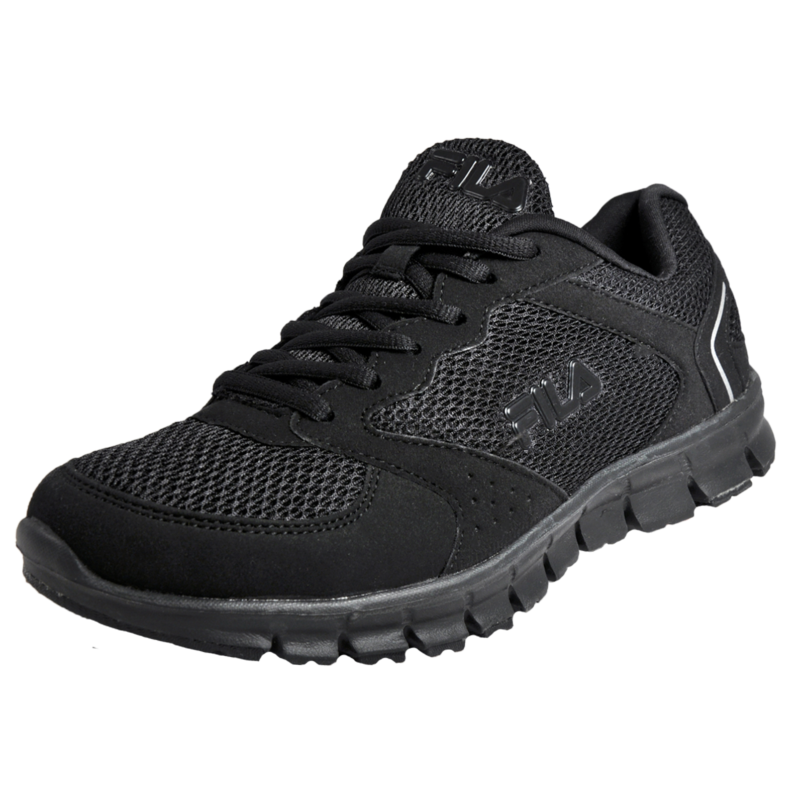 fila comet run low mens running shoes fitness trainers