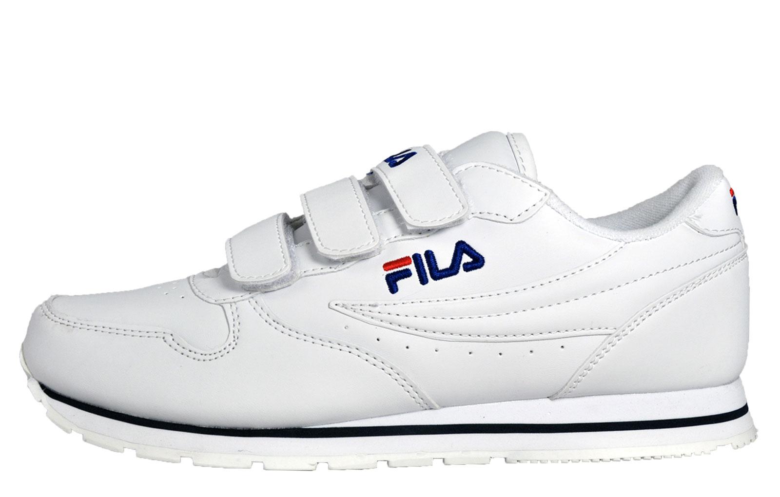 Fila Orbit Low Mens Casual Classic Premium Retro Trainers