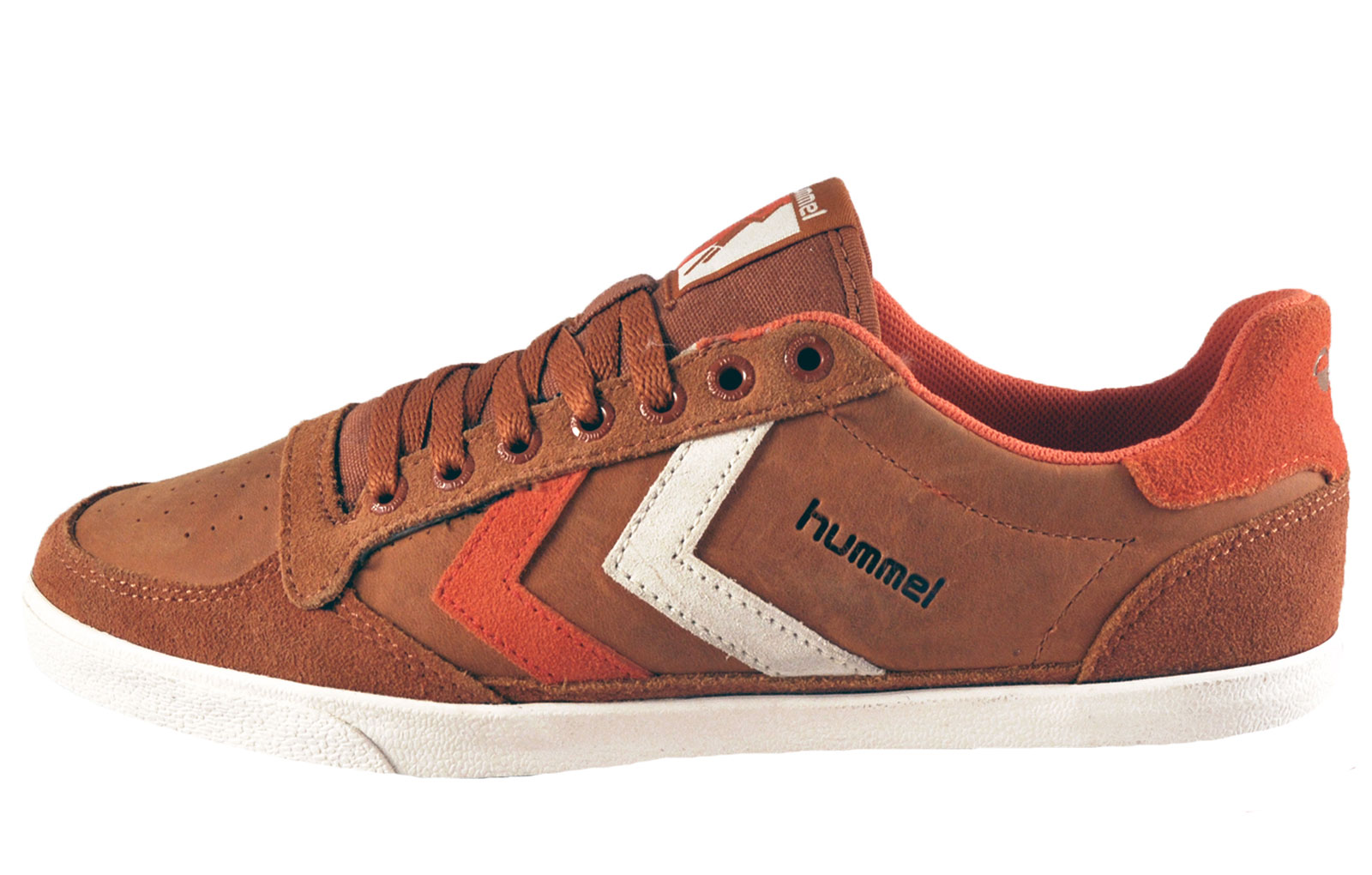 hummel slimmer stadil oiled low classic leather casual retro trainers tan ebay. Black Bedroom Furniture Sets. Home Design Ideas