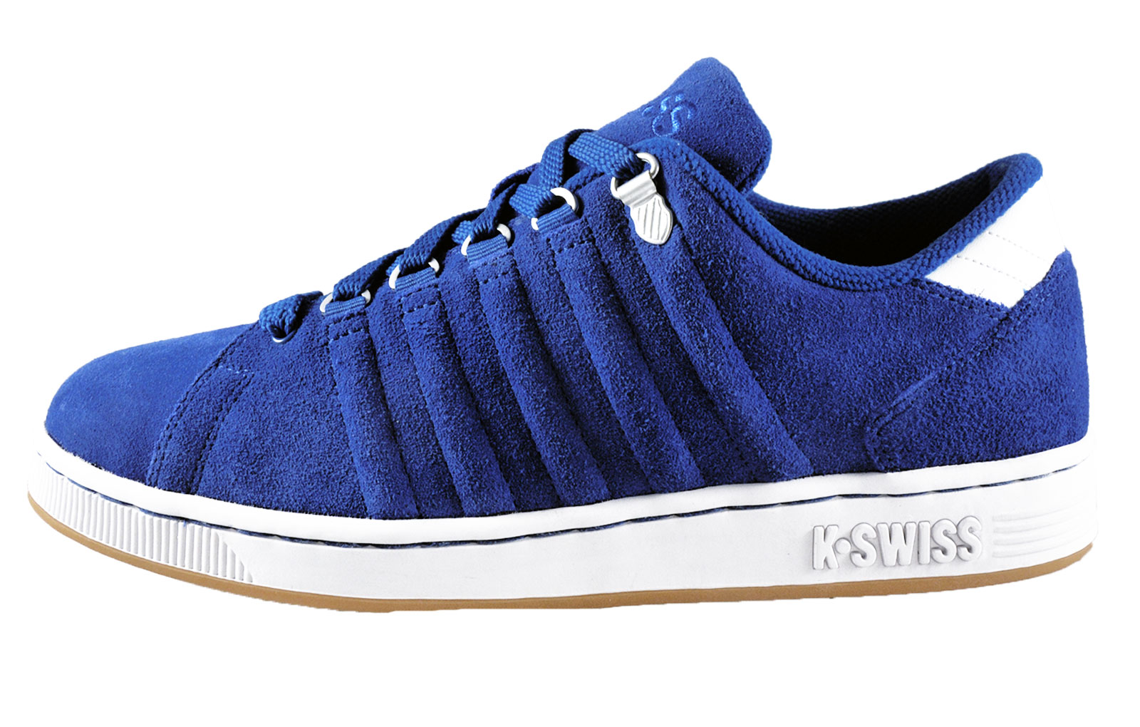 k swiss mens lozan iii premium suede leather trainers. Black Bedroom Furniture Sets. Home Design Ideas