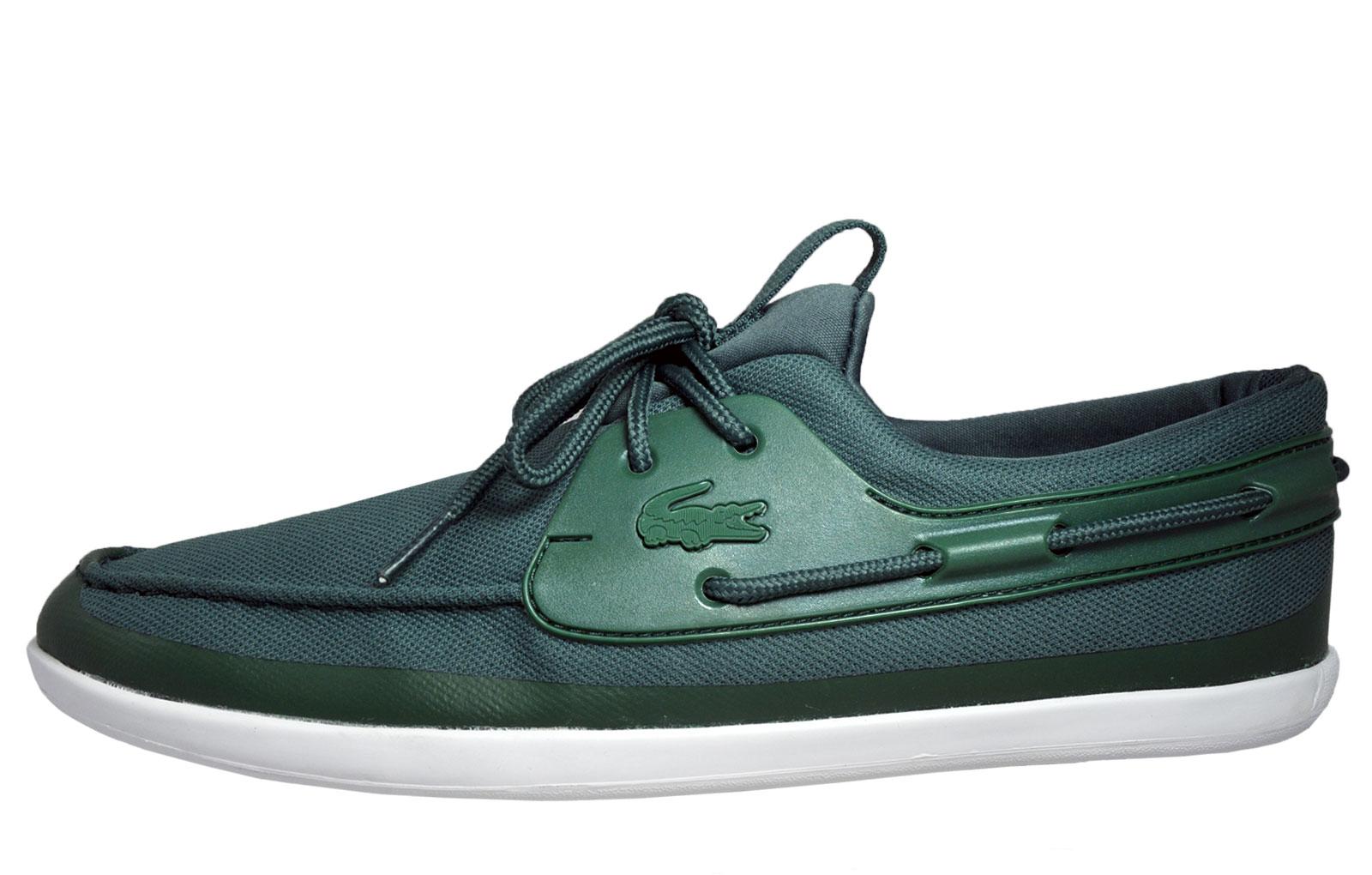 Lacoste Landsailing 216 Mens Classic Designer Boat Shoes