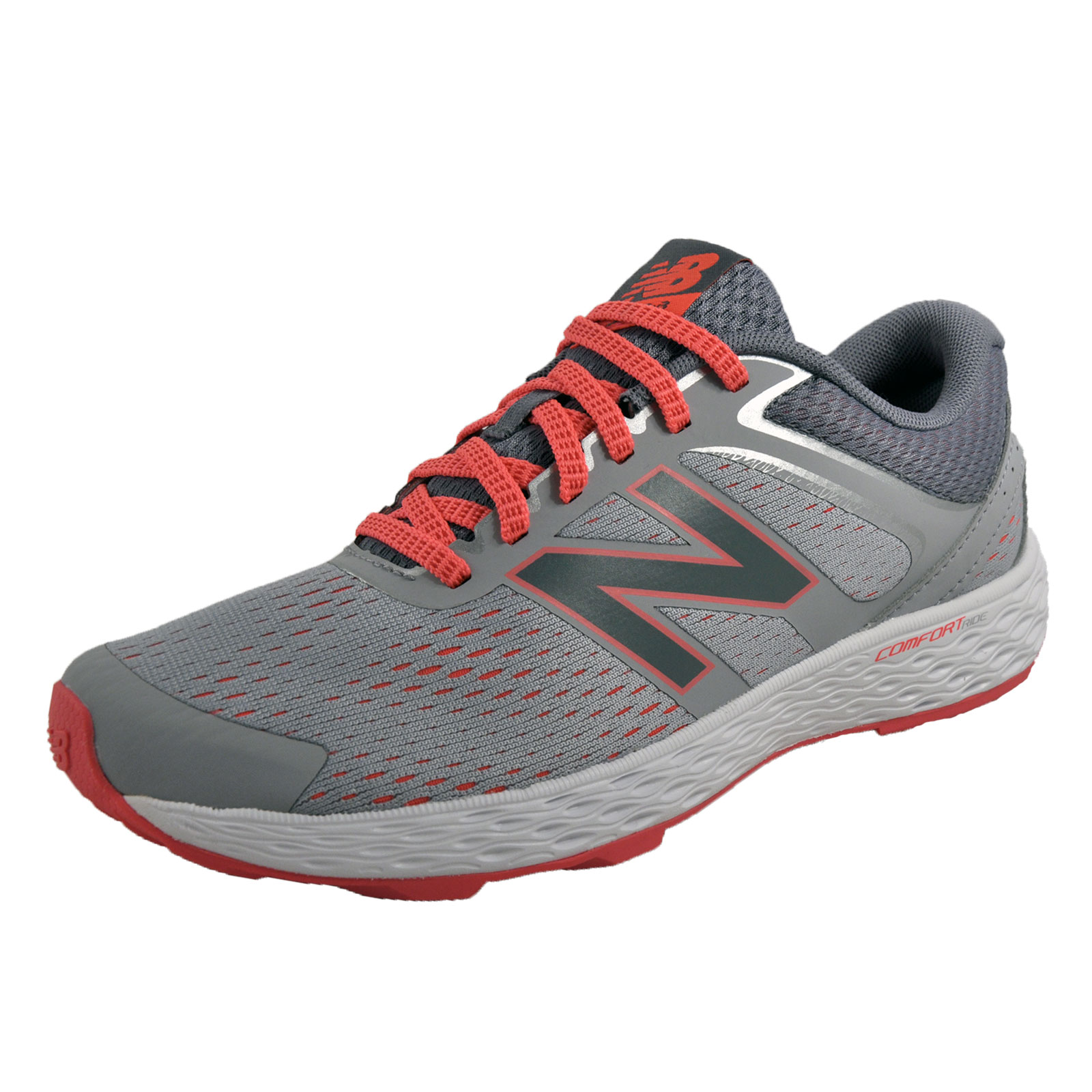 new balance 520 v3 womens comfort ride running shoes fitness trainers grey ebay. Black Bedroom Furniture Sets. Home Design Ideas