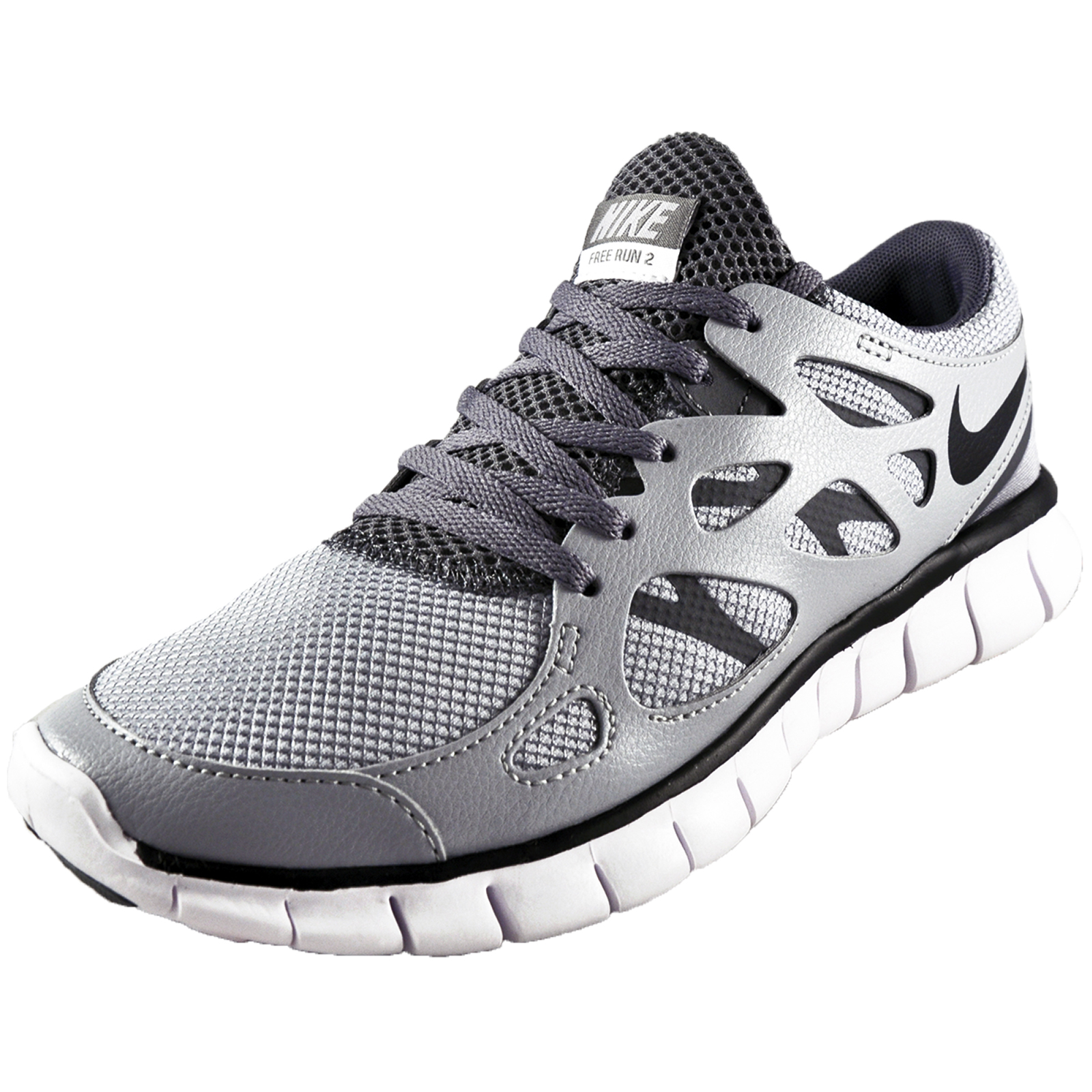 nike free run 2 trainers lt grey. Black Bedroom Furniture Sets. Home Design Ideas