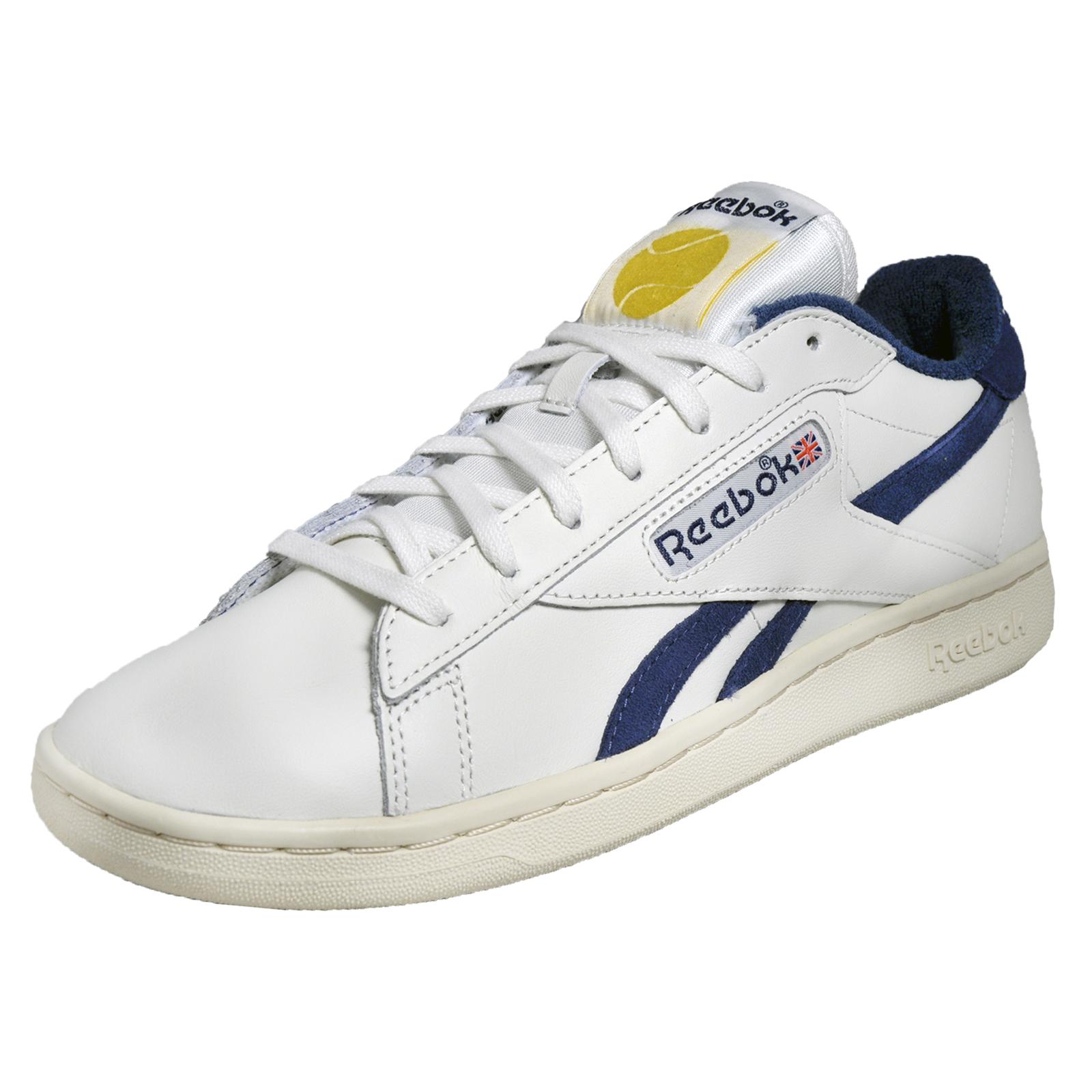 reebok classic npc uk tb mens vintage heritage leather retro trainers chalk whit ebay. Black Bedroom Furniture Sets. Home Design Ideas