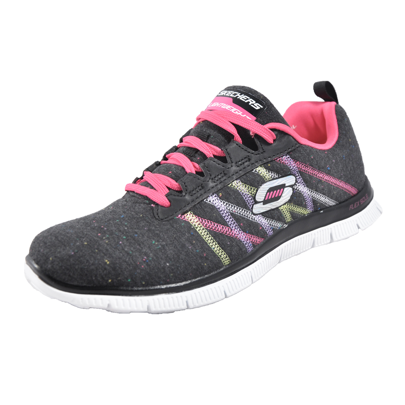 Skechers Flex Appeal Memory Foam Miracle Work Womens ...
