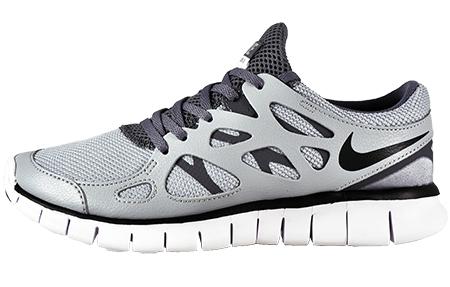 Nike Free Run 2 Des Femmes De Gris De Loup