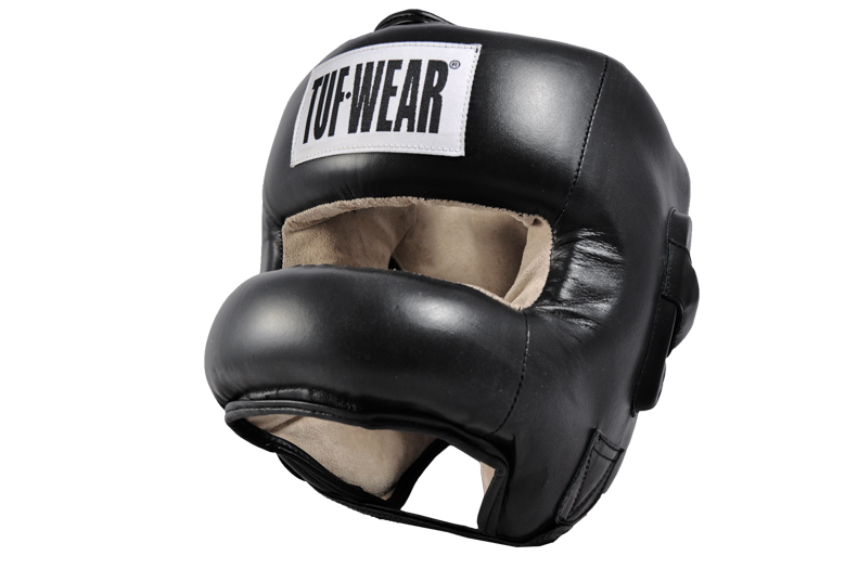 HEADGEAR HIDE LEATHER FULL NOSE PROTECTION - TW11174