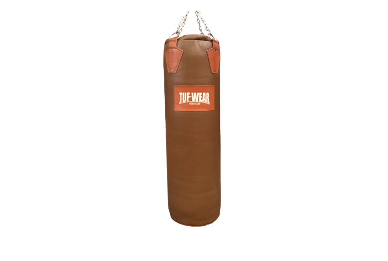 CLASSIC BROWN HIDE LEATHER PUNCH BAG 122CM 4FT - TW10413