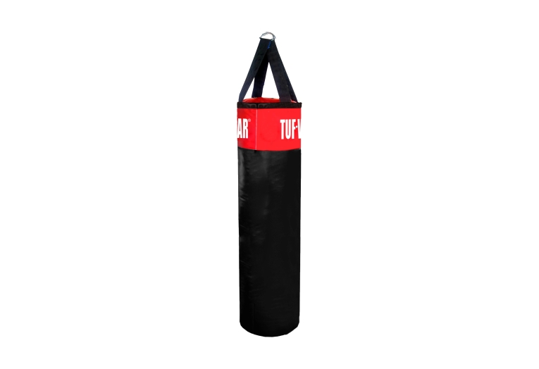 PUNCH BAG BLACK RED 122CM 4FT - TW10462 BLK/RED