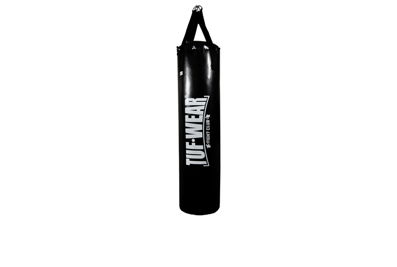 PUNCH BAG PU 4 FT (122 CM) LARGE VERTICAL LOGO BLACK - TW15065