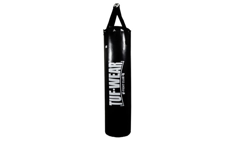 PUNCH BAG PU 5 FT (153 CM) LARGE VERTICAL LOGO BLACK - TW15073