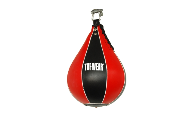SPEED BALL HIDE LEATHER BLACK RED  - TW10785