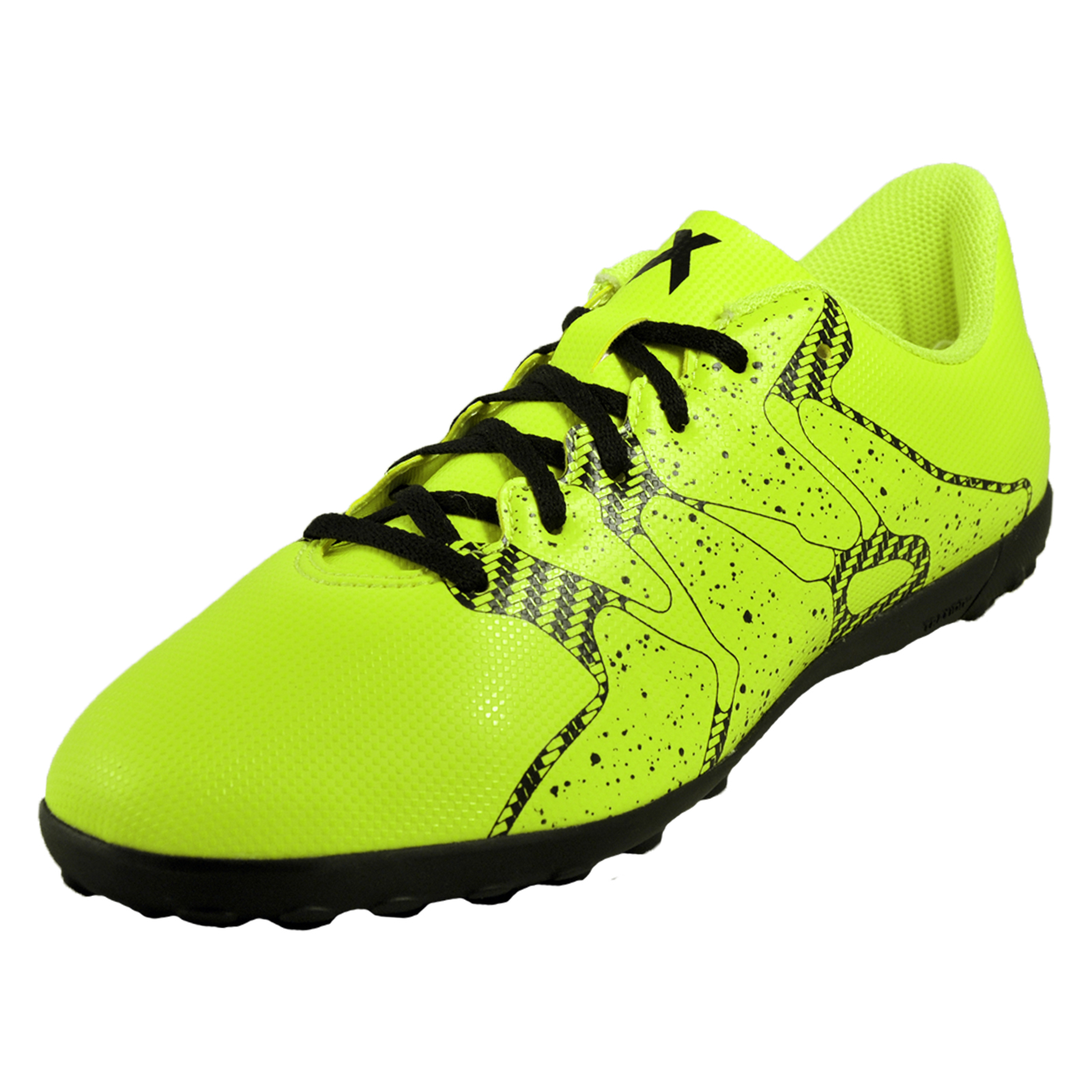 uk availability a1236 c3b11 Details about Adidas X15.4 TF Turf Junior Kids Boys Football Astro Trainers  Yellow
