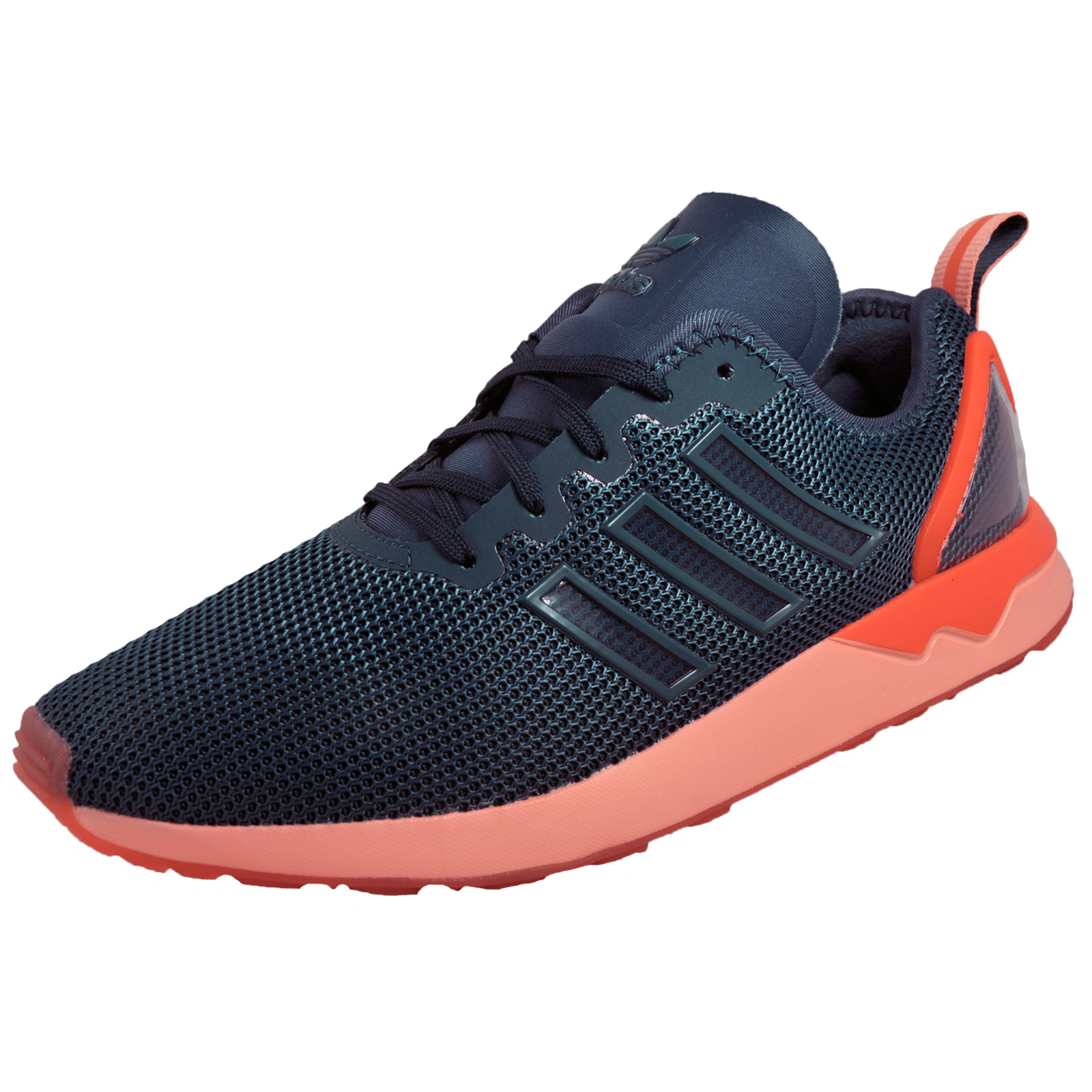 cda74282fd253 Details about Adidas Originals ZX Flux ADV Mens Classic Casual Running Gym  Trainers Navy