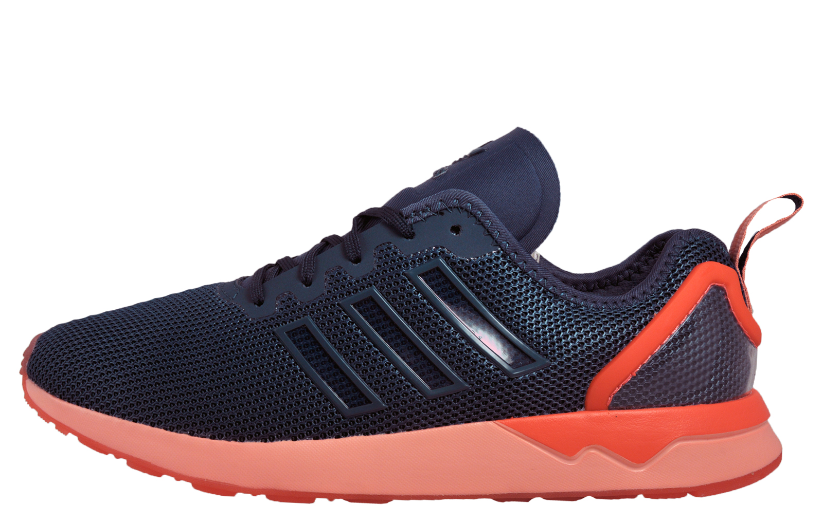 c8053dd729782 Adidas Originals ZX Flux ADV Mens Classic Casual Running Gym Trainers Navy