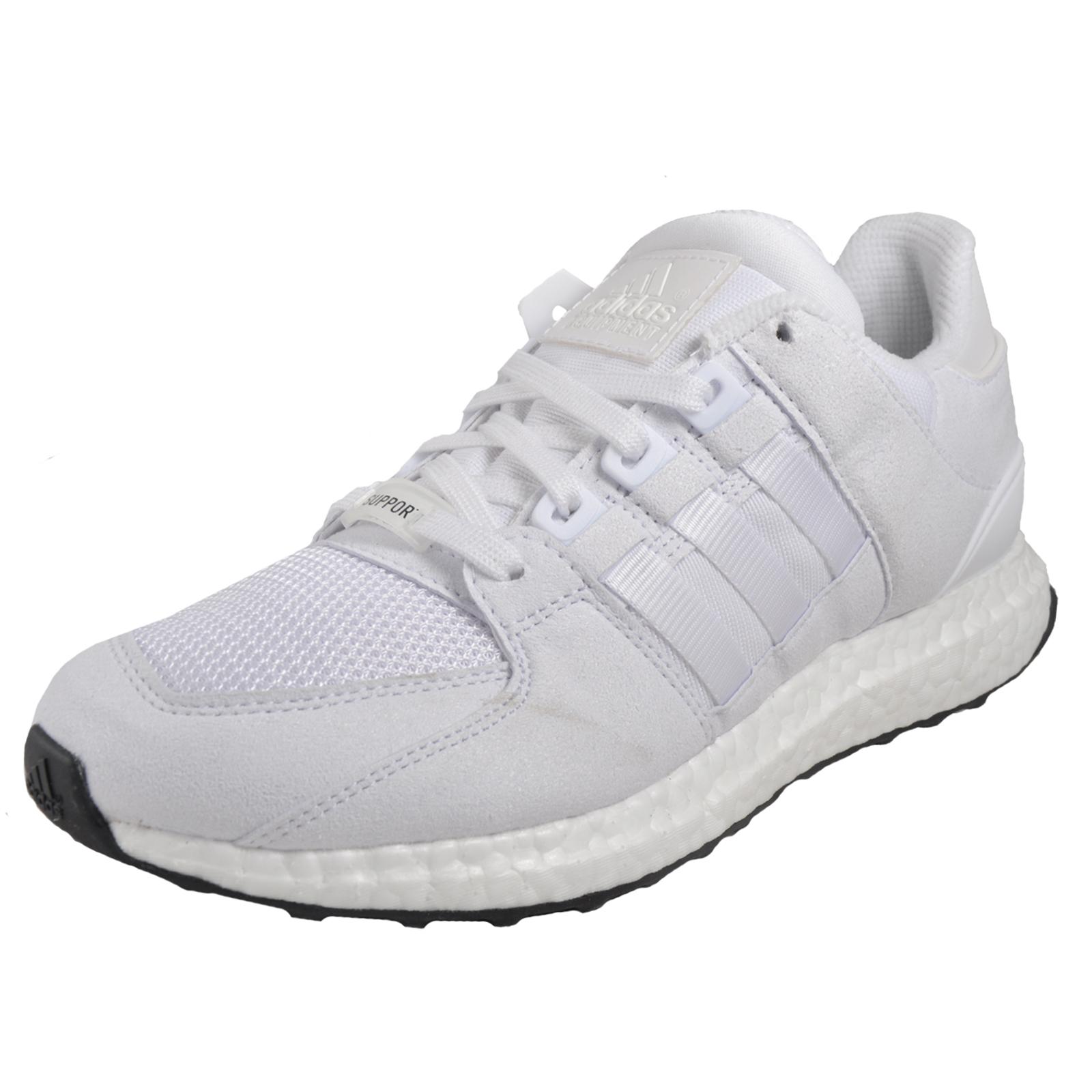 b0cfa5e08f1 Adidas Originals Equipment Support Boost 93 Mens Classic CasualTrainers  White