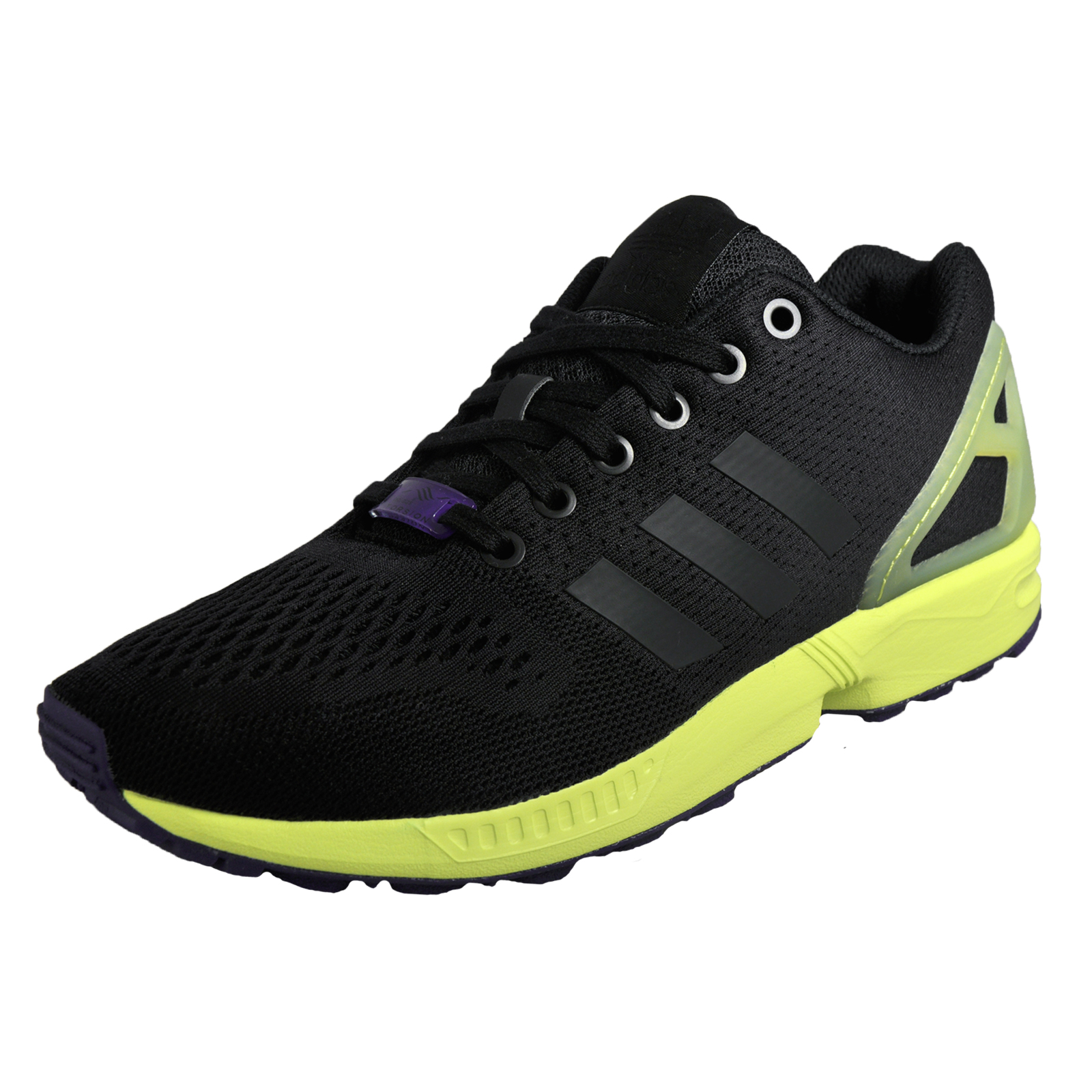 buy online 92564 5f4d1 ... best price adidas originals zx flux mens classic casual retro trainers  black ac785 a181d