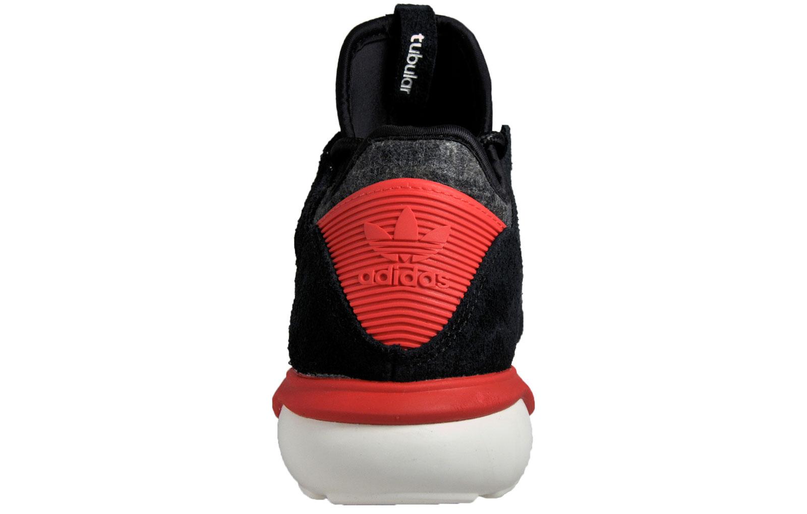 6bd11cd6a6178c Adidas Originals Tubular Moc Runner Mens Suede Gym Running Casual Trainers  Black