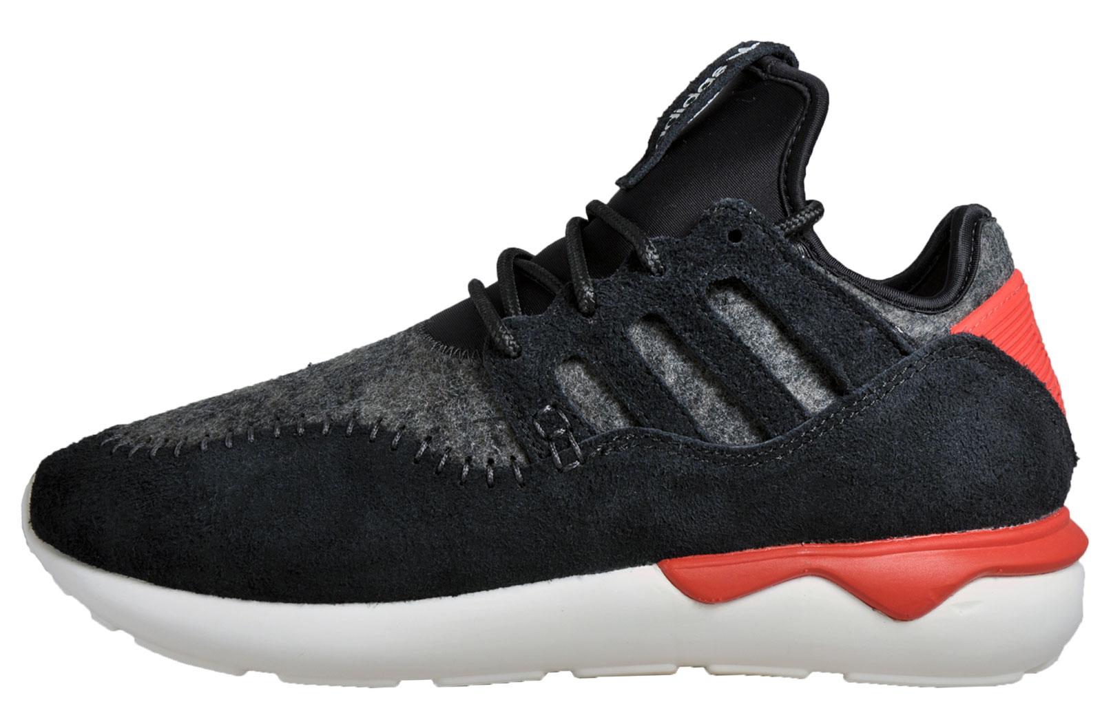 the best attitude 5d642 013d7 get adidas originals tubular moc runner mens suede gym running casual  trainers black 492ad 49c09