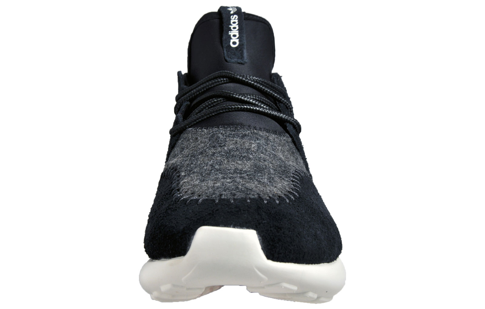 82e7a6cbf Adidas Originals Tubular Moc Runner Mens Suede Gym Running Casual Trainers  Black