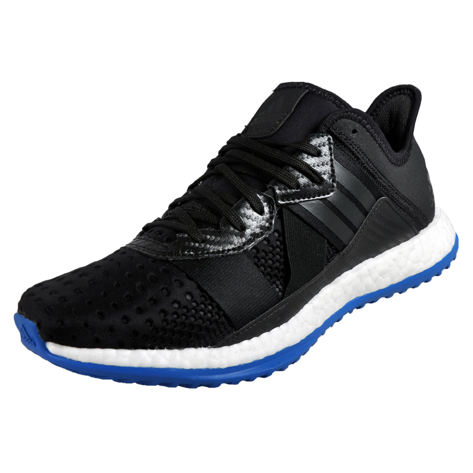 436e4c028f0 Details about Adidas Pureboost ZG Mens Running Shoes Fitness Gym Trainers  Black