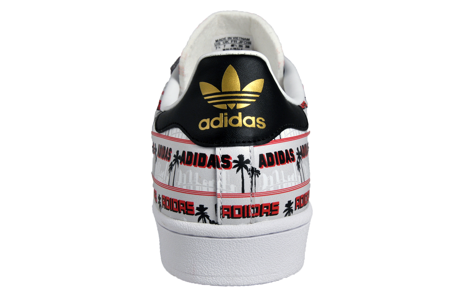 premium selection 3e7bb 7a63b Adidas Originals Superstar Nigo Bearfoot Mens Classic Casual Trainers  White. Manufacturers code  S75556