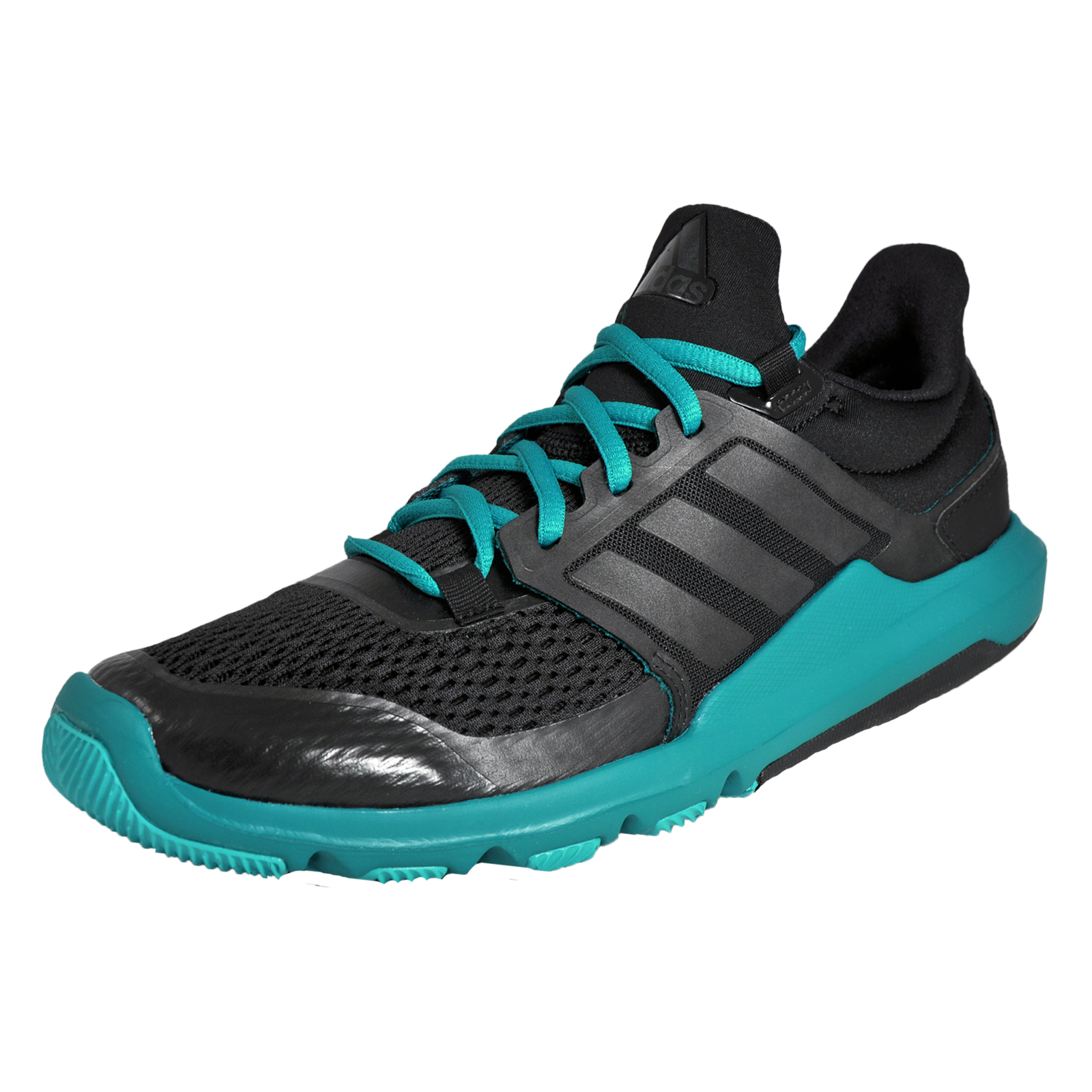 50f216c6fb71 Details about Adidas Adipure 360.3 Mens Running Shoes Fitness Gym Trainers  Black