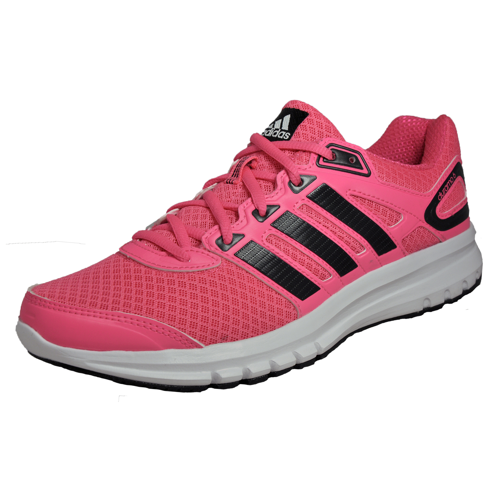 93adfee2788 Details about Adidas Duramo 6 Womens Running Shoes Fitness Gym Trainers Pink