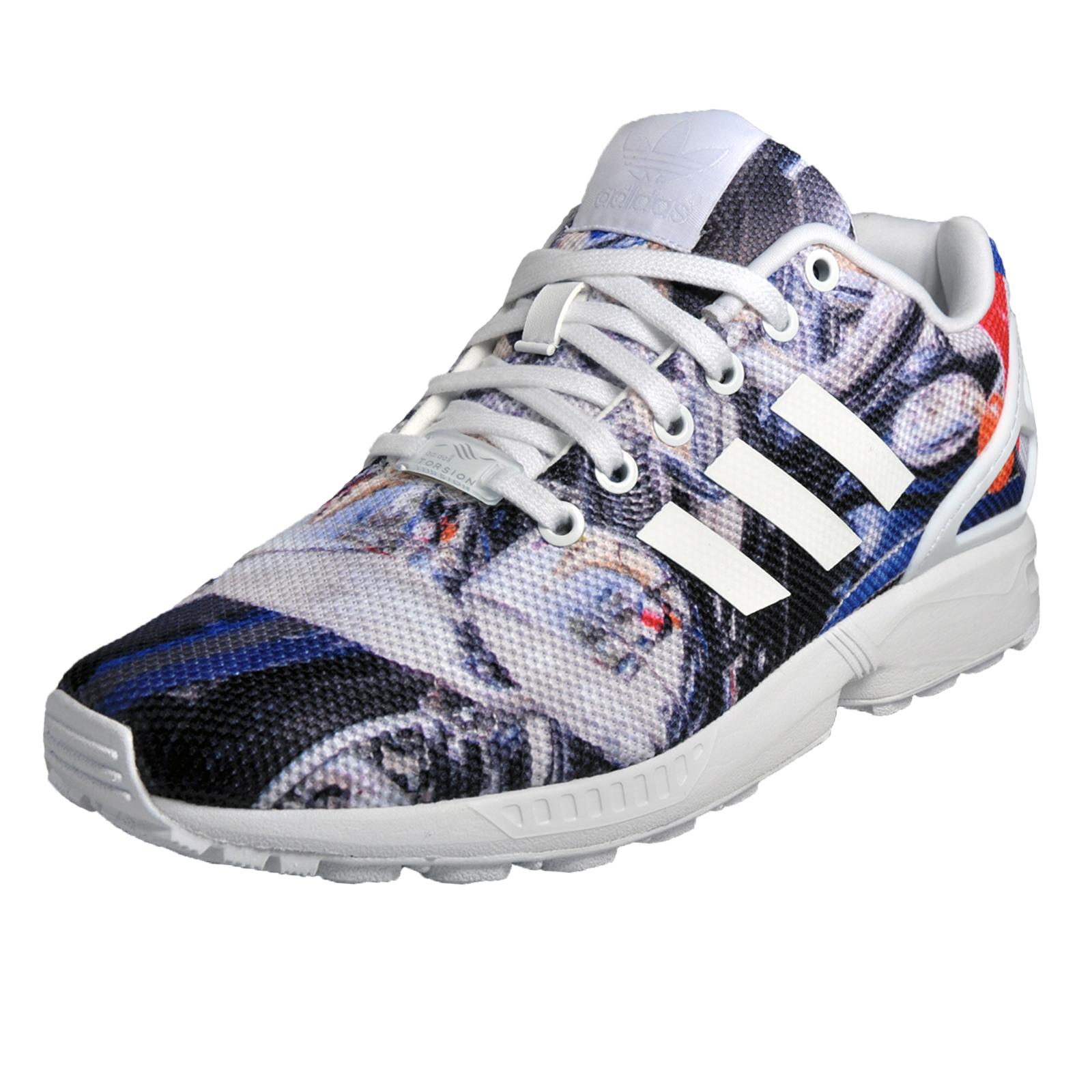 7b1fc2e7efbe4 Details about Adidas Originals ZX Flux Mens Classic Casual Retro Trainers  Multi
