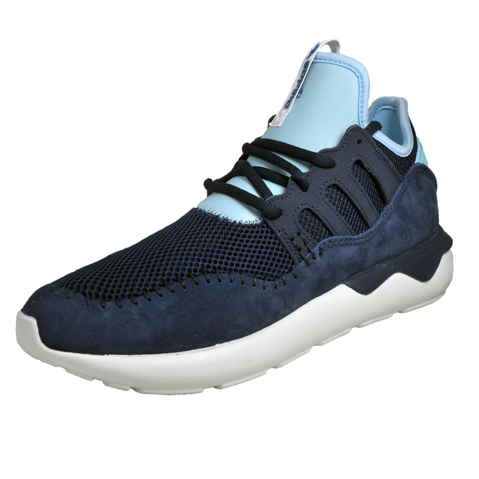 huge discount d98de 4987a Details about Adidas Originals Tubular Moc Runner Mens Gym Running Casual  Trainers Navy