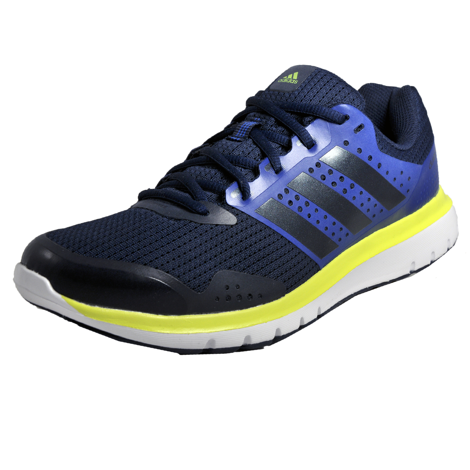Adidas Duramo 2 Mens Running Shoes Fitness Gym Workout Trainers Navy