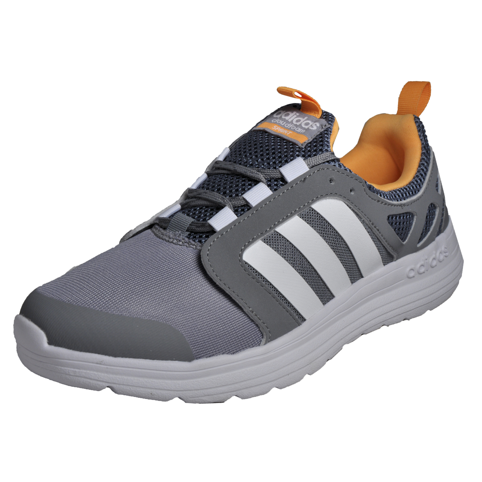 adidas cloudfoam flow trainers mens