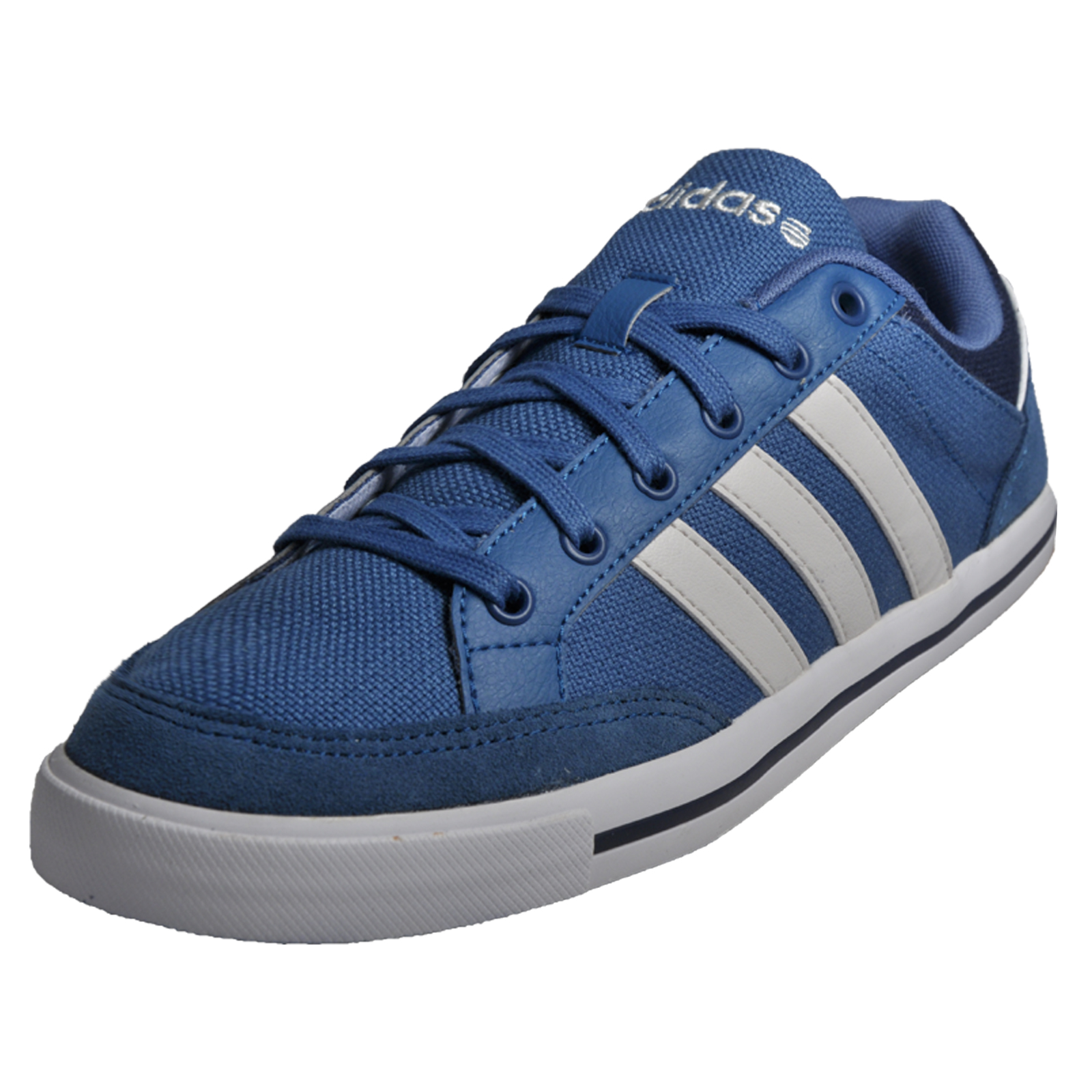 adidas neo trainers blue