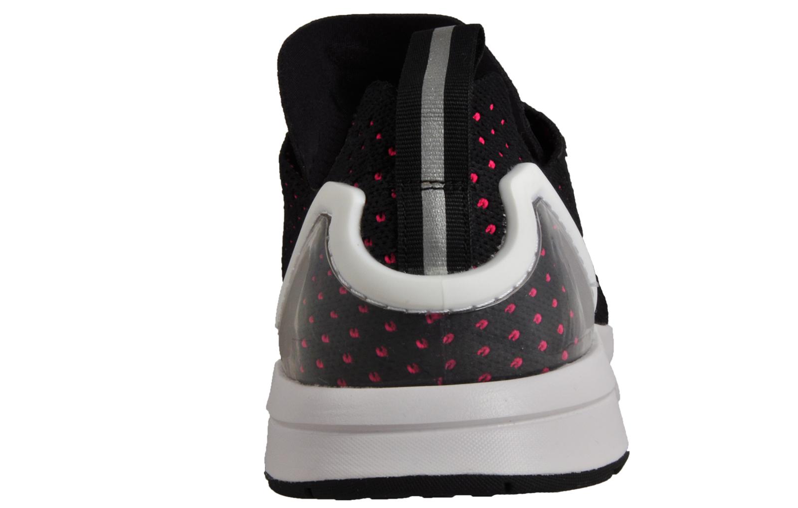 167b9dc41 Adidas Originals ZX Flux ADV Asymmetrical Primeknit Mens Casual Gym  Trainers Black