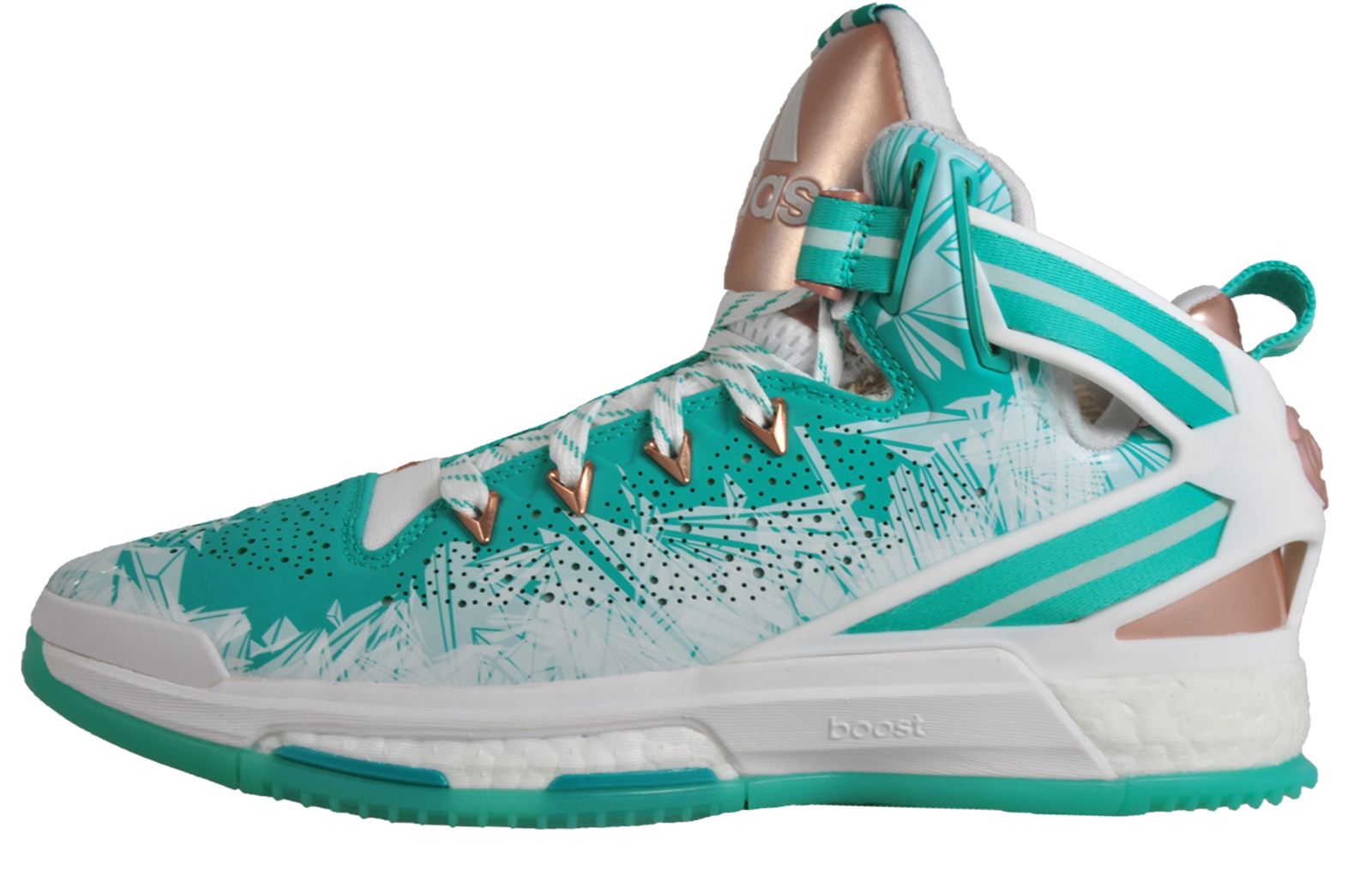 promo code da7b0 f0f68 Adidas D Rose 6 Boost Limited Edition Pro Mens Basketball Shoes Trainers  Green