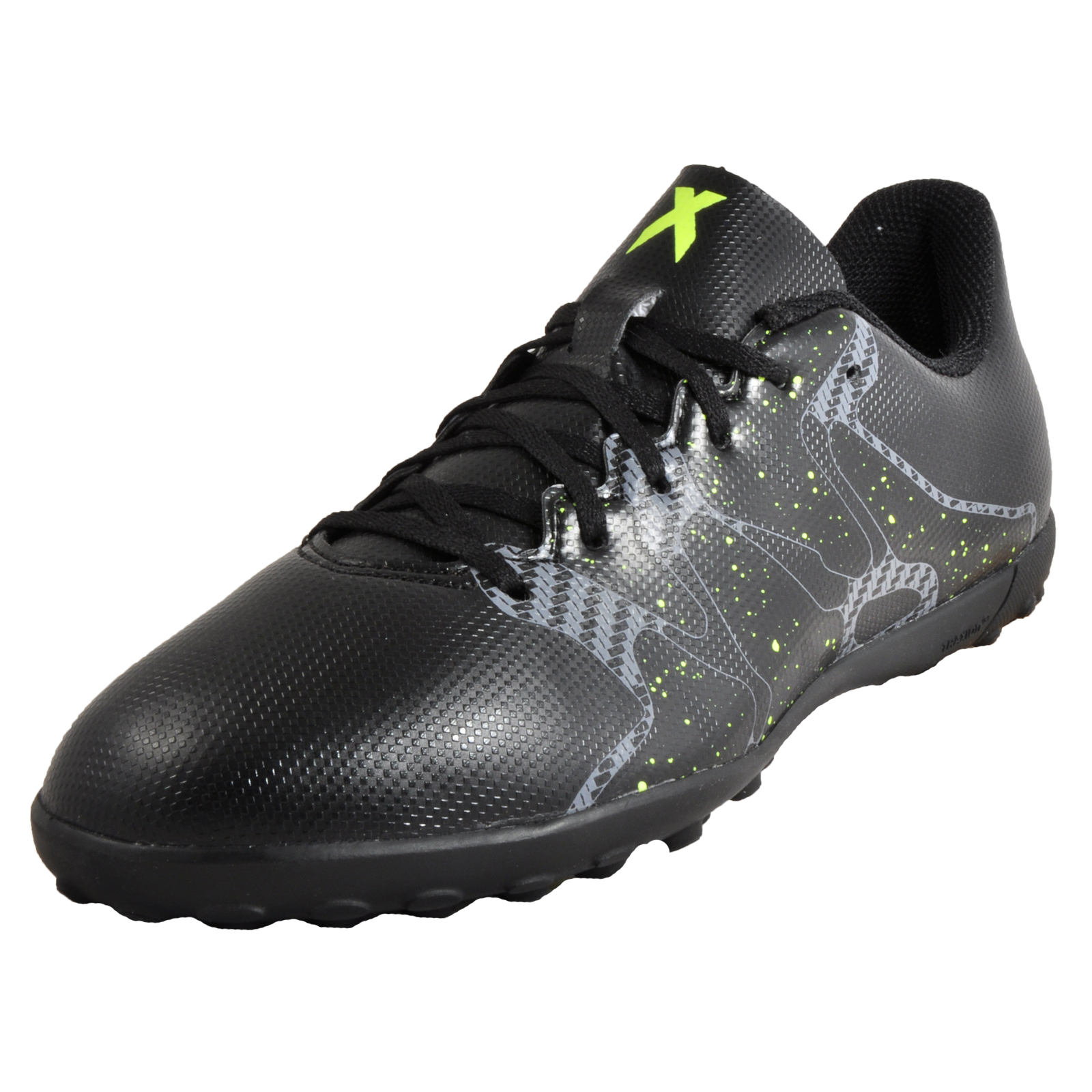 9b38e4ae0ccb Details about Adidas X 15.4 TF Junior Kids Boys Football Astro Turf Trainers  Black