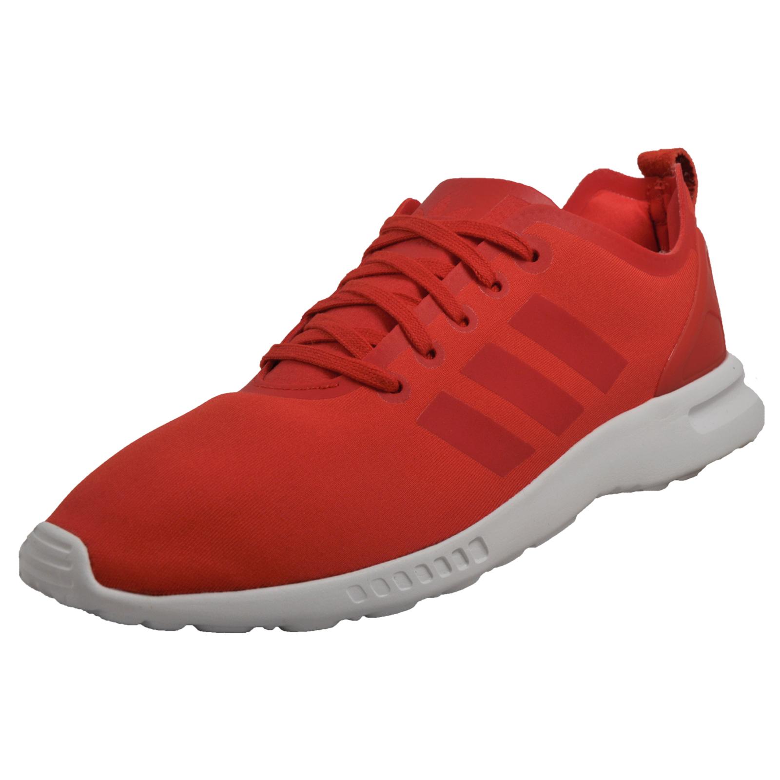 sports shoes 54930 88973 czech adidas originals zx flux all red 45396 0592d