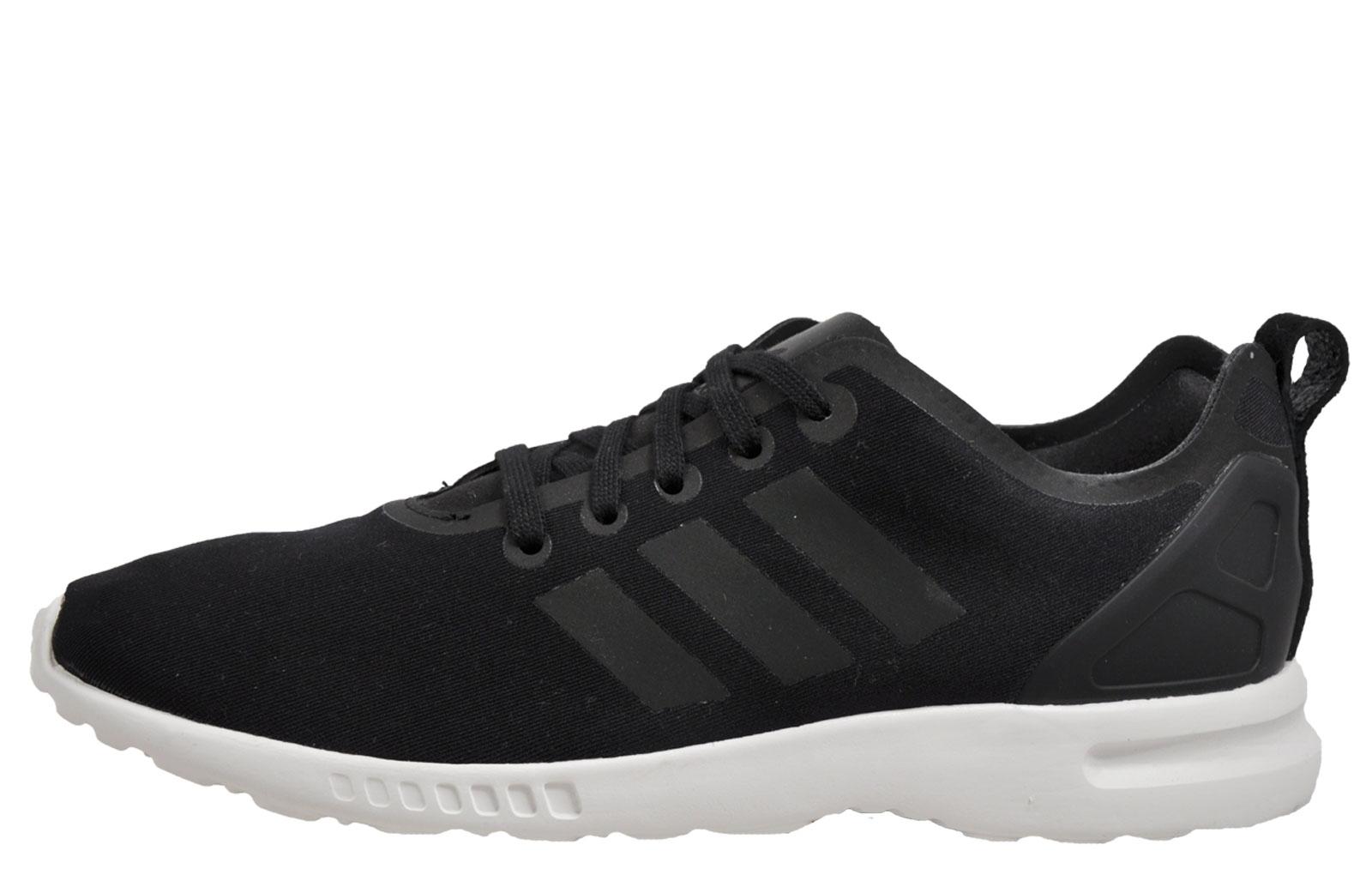 men's adidas black zx flux adv asym primeknit nz