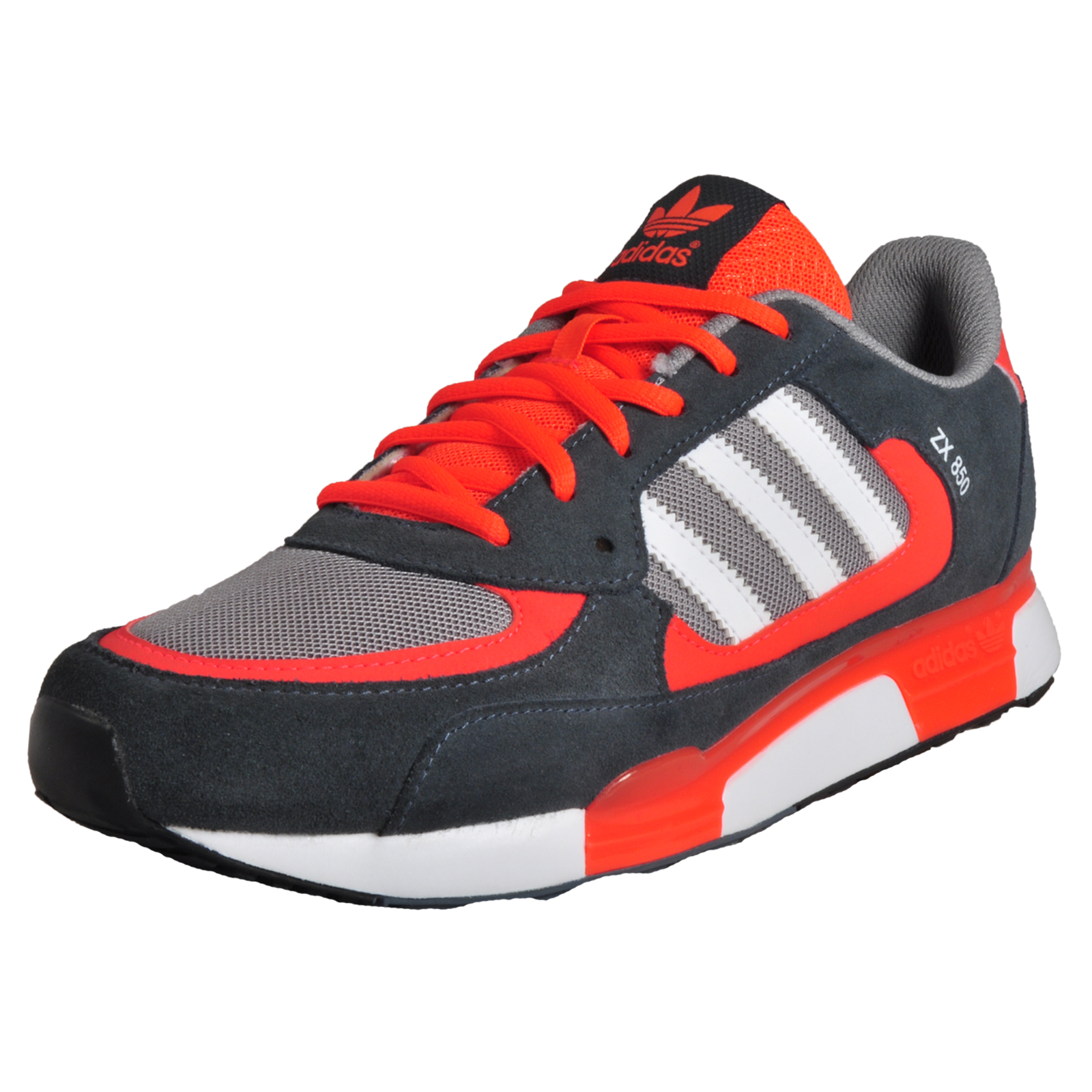 Adidas Originals ZX 850 Men\u0027s Classic Casual Retro Running Shoes Trainers  Grey