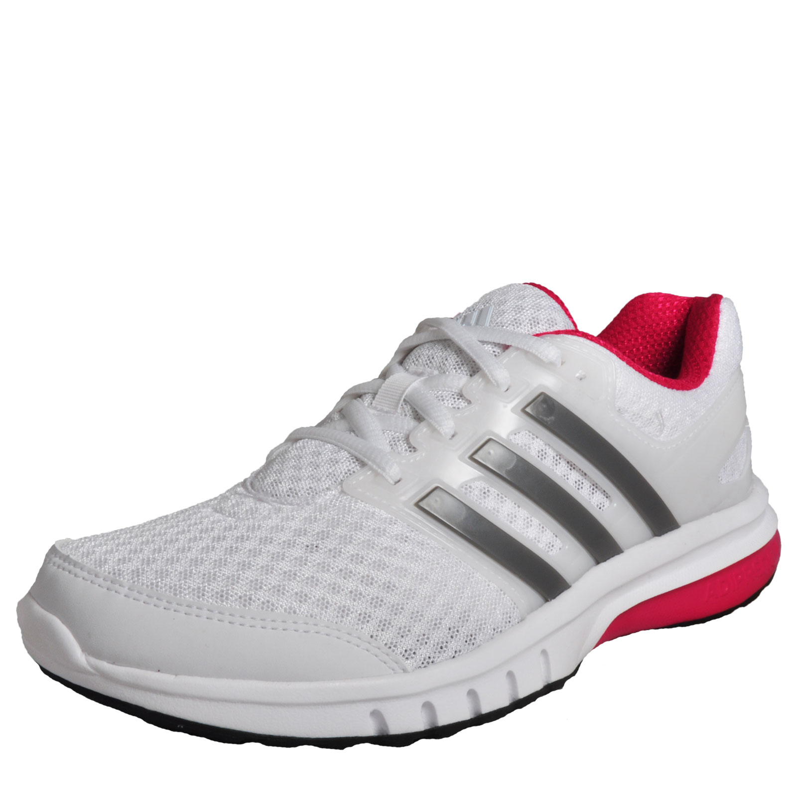 huge selection of 3b923 3454d ADIDAS GALACTIC ELITE WOMENS RUNNING SHOE TRAINER UK SIZE 7.5  BLACK SILVER PINK