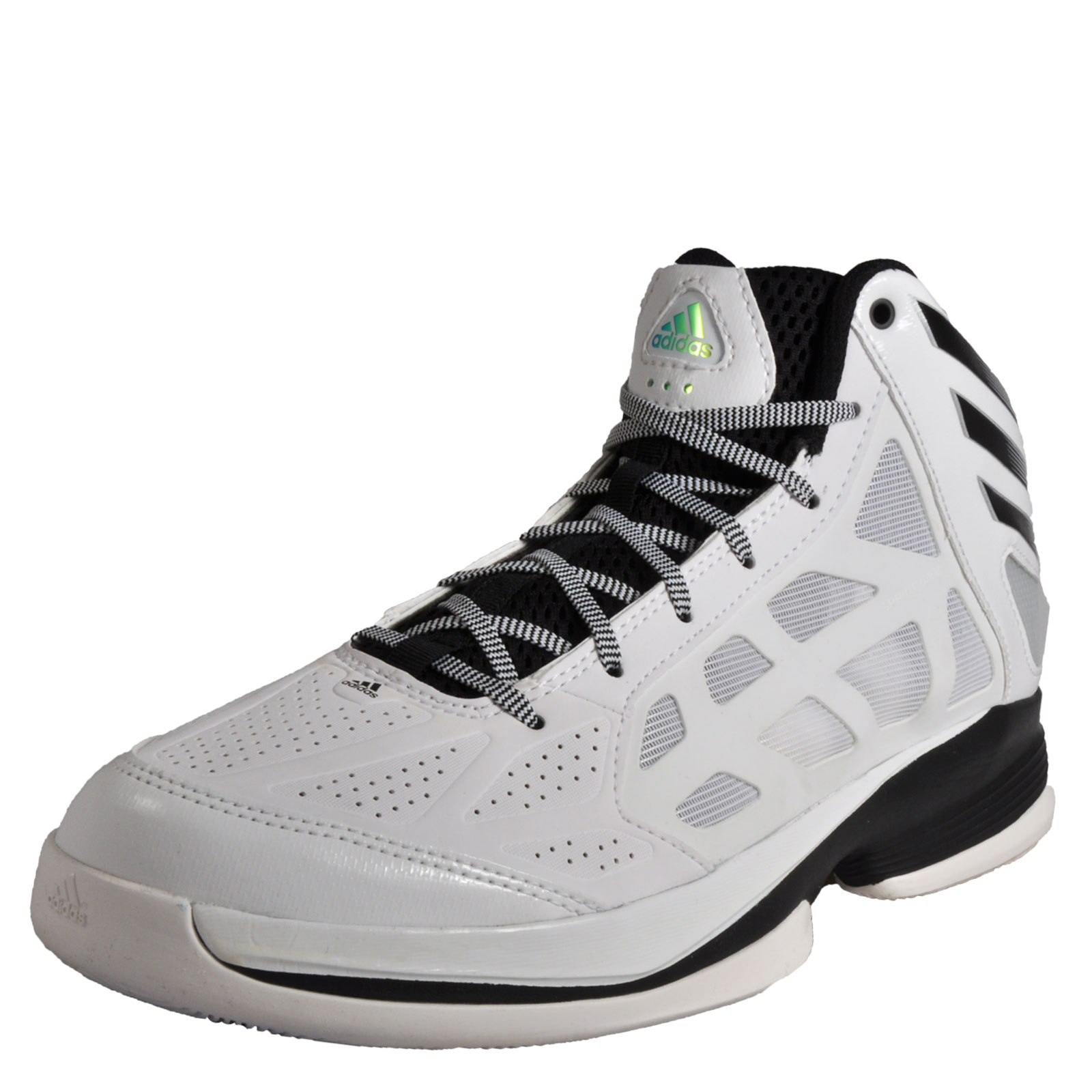 premium selection f5138 8a850 Details about Adidas Crazy Shadow Mens Premium Basketball Mid Shoes White