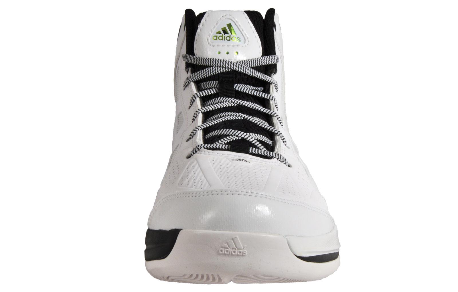 hot sale online 1228b e349e Adidas Crazy Shadow Mens Premium Basketball Mid Shoes White
